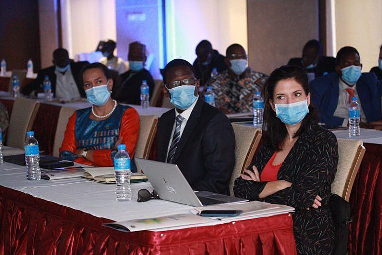 Participants de la table-ronde sur l'accélération de l'accès à l'électricité au Niger.