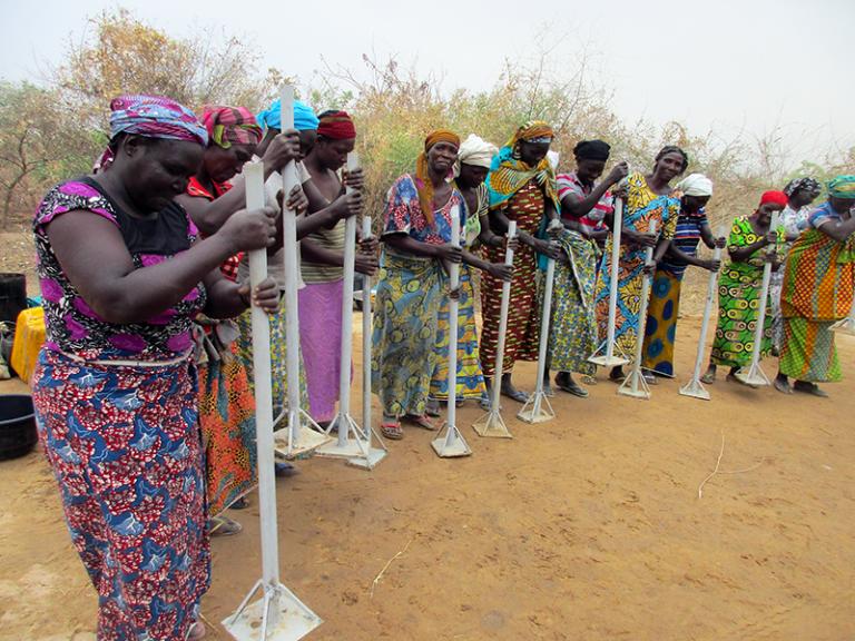 Autonomisation des femmes au Sahel - Projet PRCPT - Union européenne et GIZ